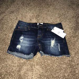 hudson kids jean shorts